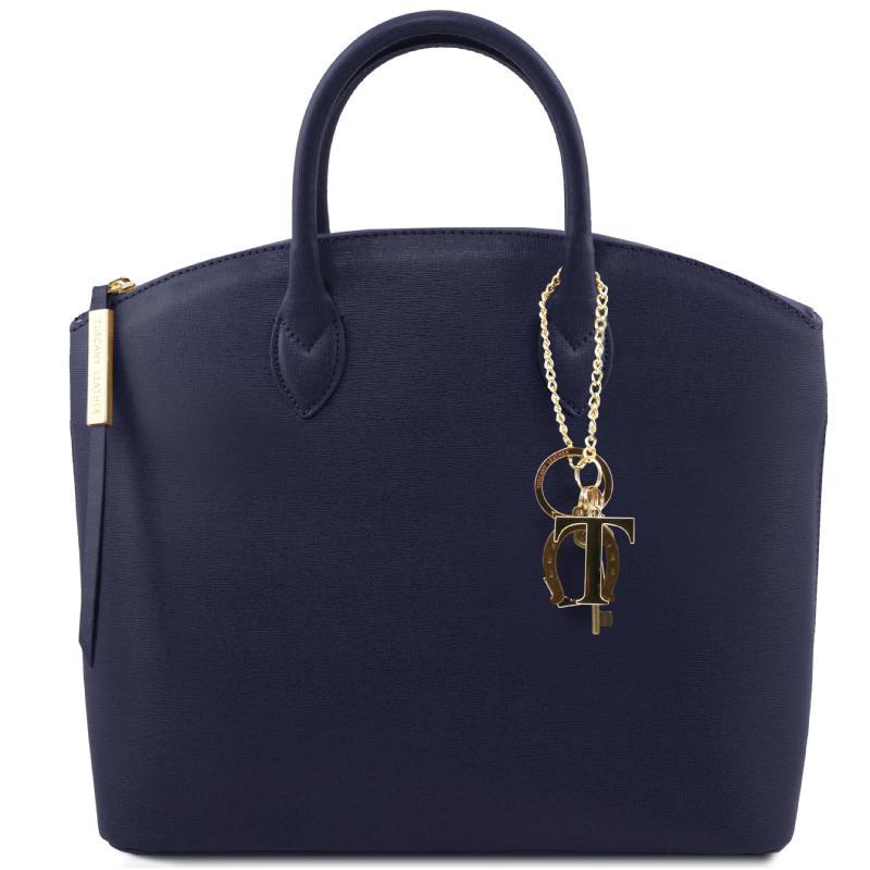 Γυναικεία τσάντα δερμάτινη TL141261 - Μουσταρδί Γυναικεία τσάντα δερμάτινη  TL141261 - Μπλε σκούρο product ... b438208f11d