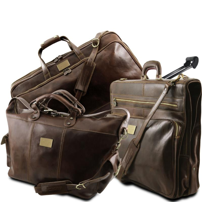 582bd6bc16 Συλλογή Travellers   Σετ Ταξιδίου Δερμάτινο Luxurious