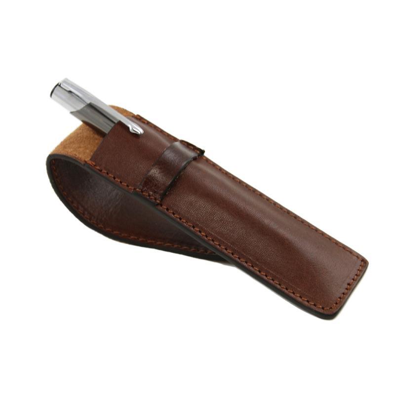 190e25625c ... Δερμάτινη θήκη για στυλό   πένα μονή - Εσωτερικό (3) ...