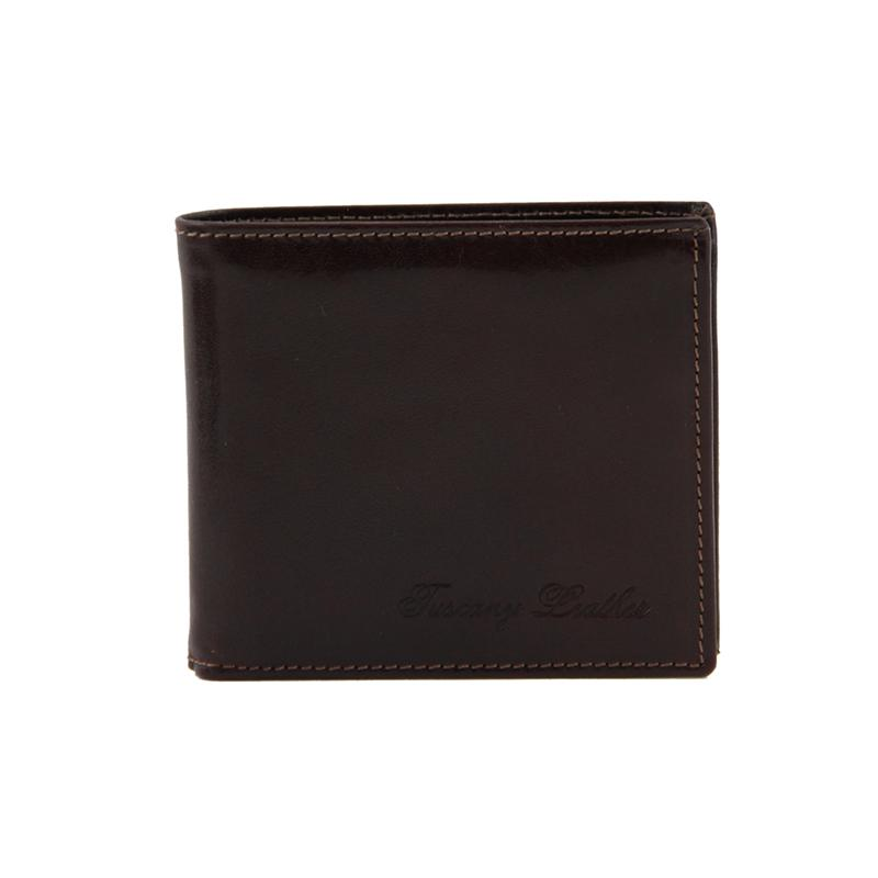 8963bd36b0c Ανδρικά Πορτοφόλια : Ανδρικό Δερμάτινο Πορτοφόλι Slim Exclusive 2